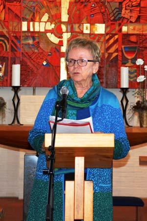 Magnhild Meltveit Kleppa opna Bibelmaraton i Skjold kyrkje